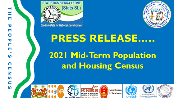 Press Release on the 2021 Mid-Term Population and Housing Census