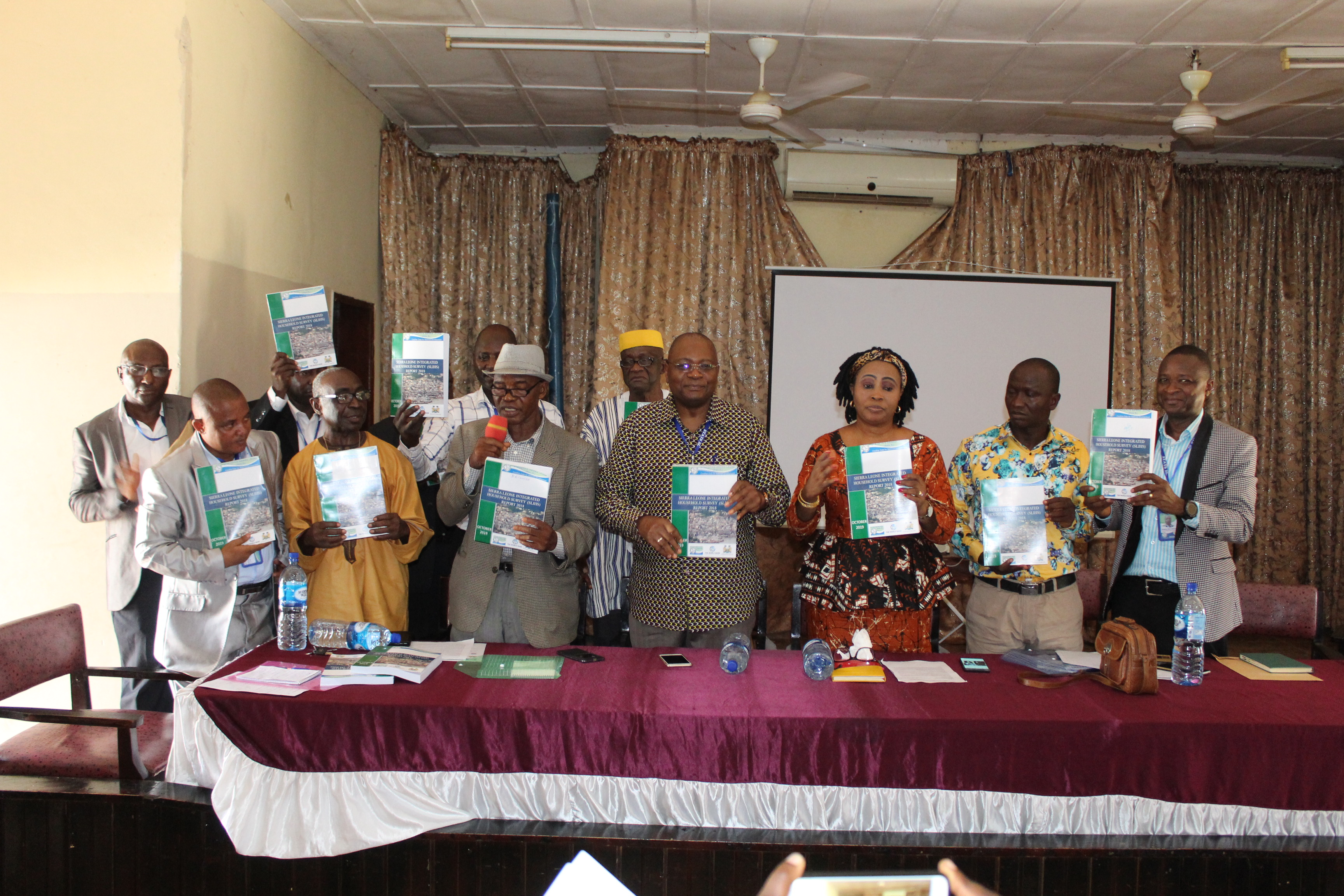 launching report at Makeni