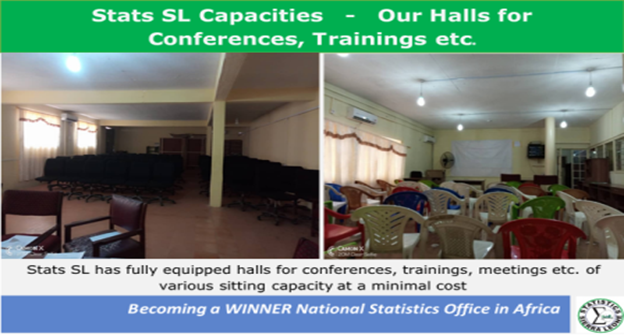 Statistics Sierra Leone Facilities - Our Halls