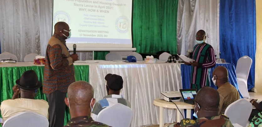 Stats SL Begins Mid-Term Census Stakeholders' Sensitization meetings in Bo and Kenema Districts