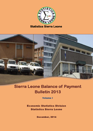 balance of payment bulletin 2013 cover